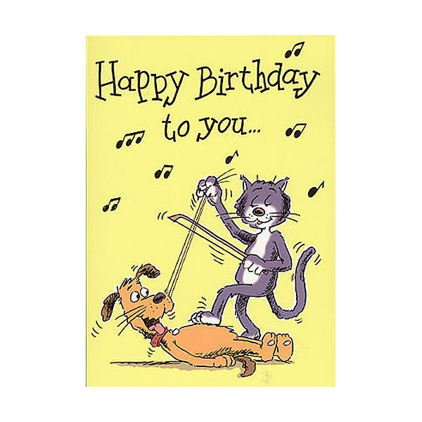 Music gallery greeting cards birthday pack forsyths