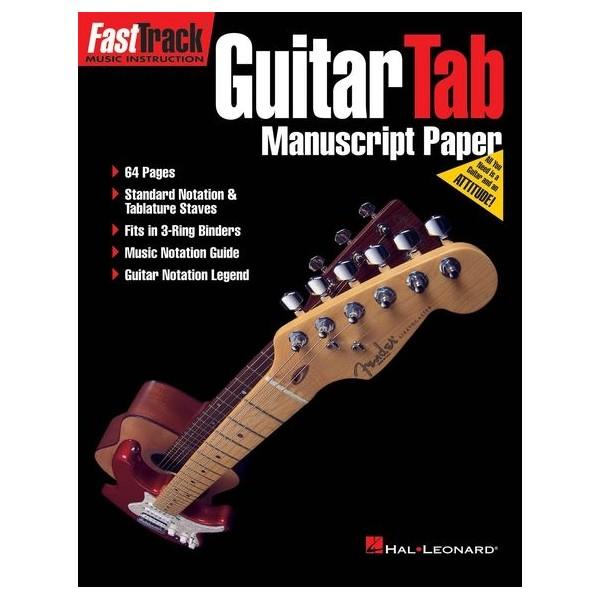 FastTrack Guitar Tab Manuscript Paper - Forsyths Music Shop