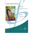 Koechlin, Charles - 15 Etudes Op188 (Eb Sax & Piano)