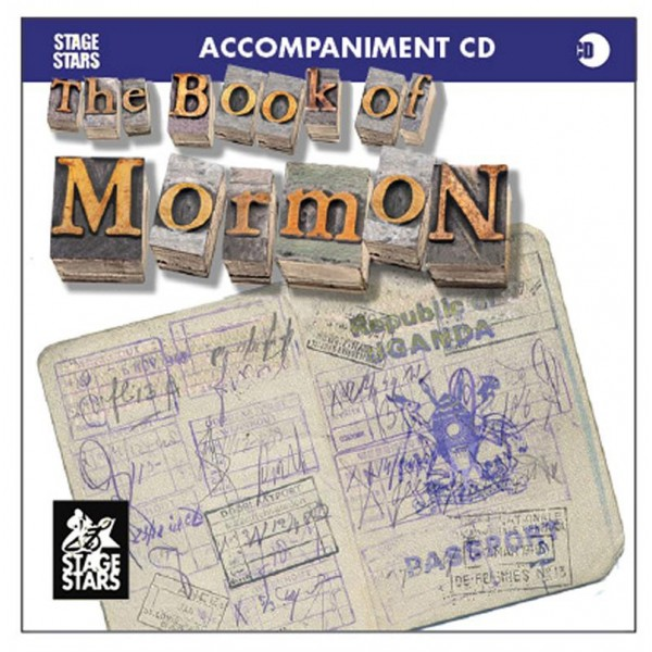 The Book Of Mormon Stage Stars Accompaniment Cd