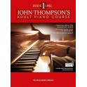John Thompsons Adult Piano Course: Book One (Book/Download Card) - Thompson, John (Author)