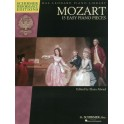 W. A. Mozart: 15 Easy Piano Pieces (Schirmer Performance Editions) - Mozart, Wolfgang Amadeus (Composer)