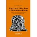 Sometimes I feel like a motherless child - Baldwin, Antony