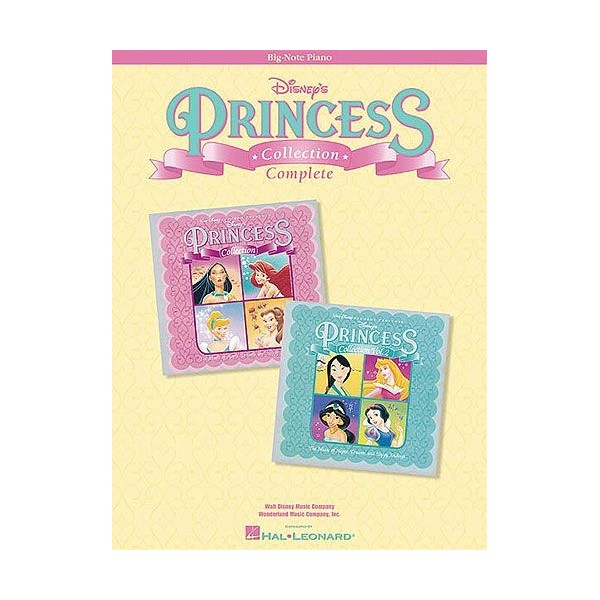 Disney's Princess Collection Complete (Big Note Piano