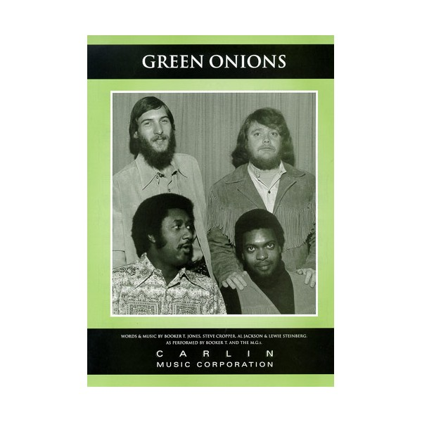 green onions organ sheet music pdf